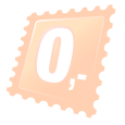 Oranžová kočka - 40 x 60 cm