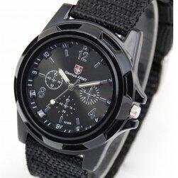 Pánské vojenské hodinky - černé