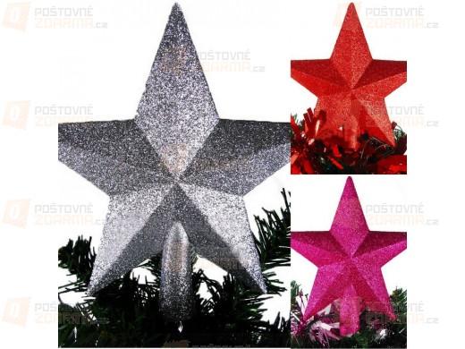 Vánoční hvězda - dekorace na stromeček