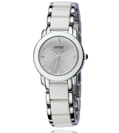 Dámské hodinky Kimio - bílá barva