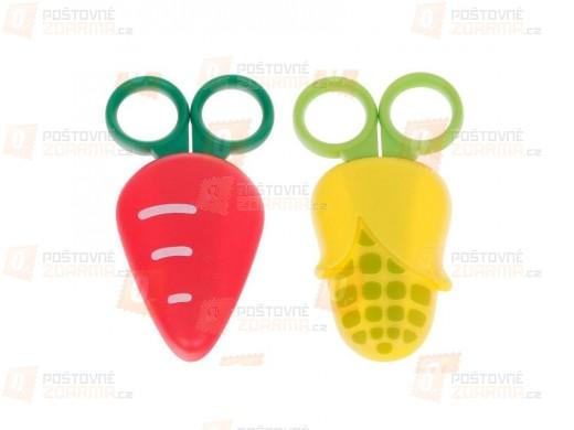 Dětské nůžky v ochranném plastovém pouzdře