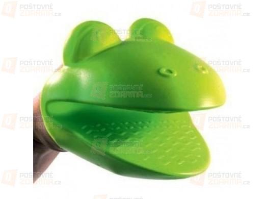 Kuchyňská silikonová chňapka žabka