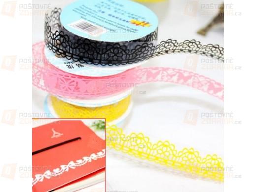 10 kusů pásek sloužících k dekoraci - různé motivy