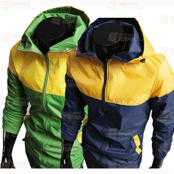 Pánská sportovní bunda - 2 barevné varianty