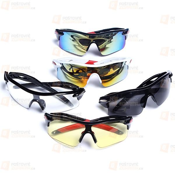 Sportovní brýle - 5 barevných provedení