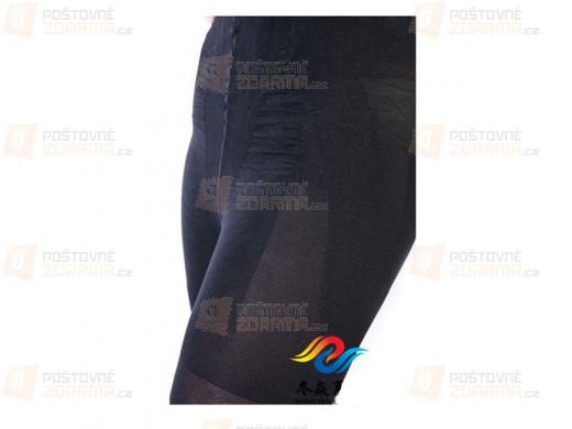 Černé stahující kalhoty