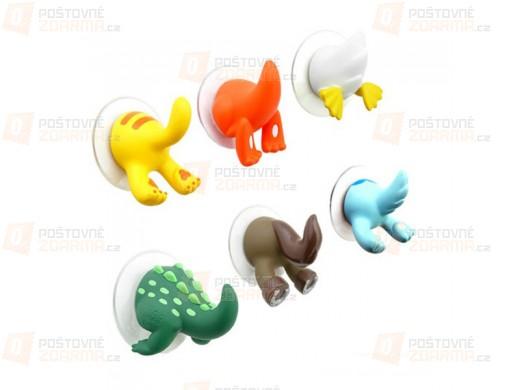 Veselé dětské háčky ve tvaru zvířátek