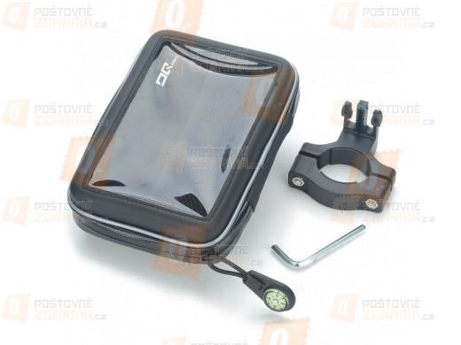"""Voděodolné pouzdro na mobil a GPS navigaci 7"""" + držák na řidítka"""