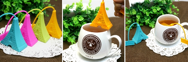 Sítko na čaj ve tvaru Eifffelovky