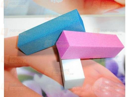 Sada pilníků na nehty - 3 kusy