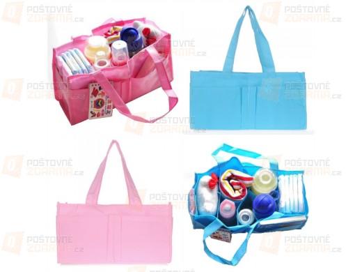 Multifunkční taška s praktickým organizérem pro maminky - 2 barvy