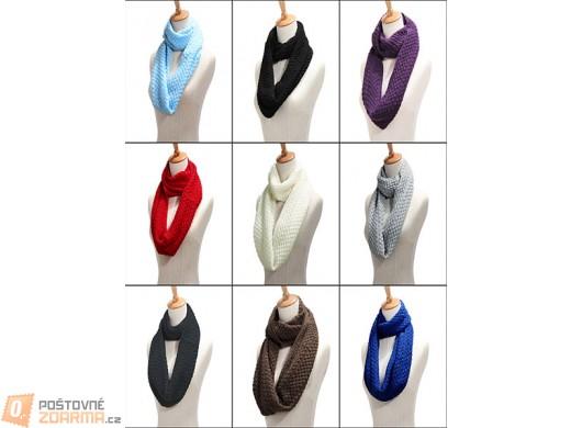 Zimní šál v 9 barvách