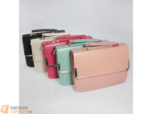 Dámská vyztužená retro kabelka - v 5 barvách