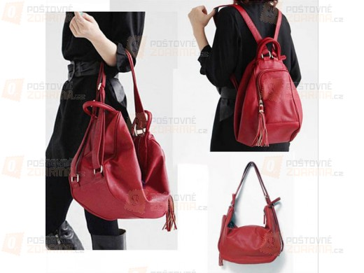 Batoh a taška 2v1 - ve 2 barvách
