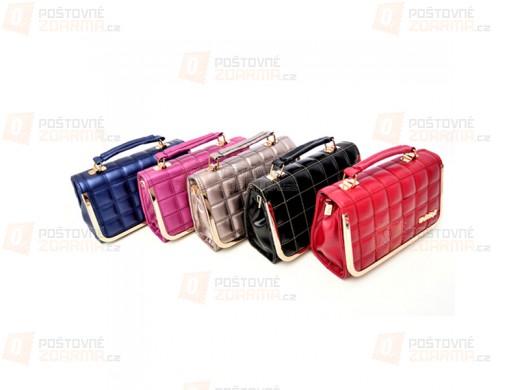 Luxusní dámská kabelka - ve 2 velikostech a více barvách