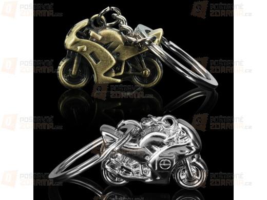 Přívěsek na klíče - motocykl