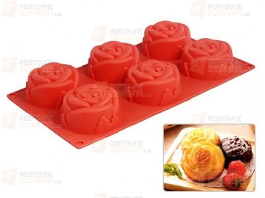 Forman na muffiny ve tvaru růžiček