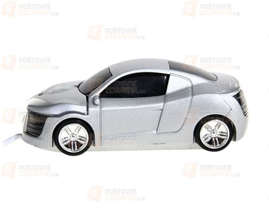 Optická myš ve tvaru automobilu - 2 barvy