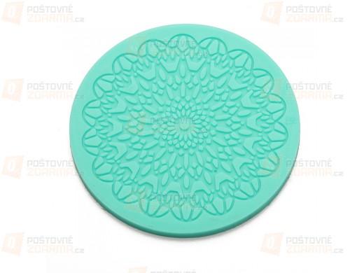 Silikonová kulatá formička na zdobení dortů