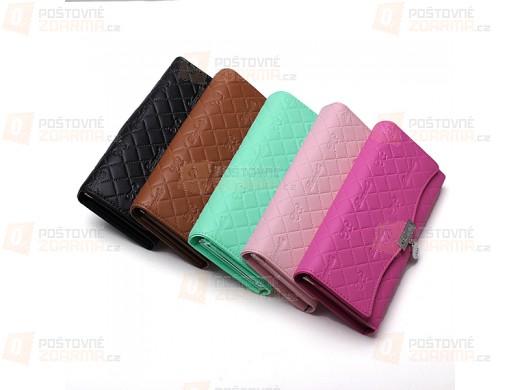 Dámská peněženka s raženým vzorem - v 5 barvách