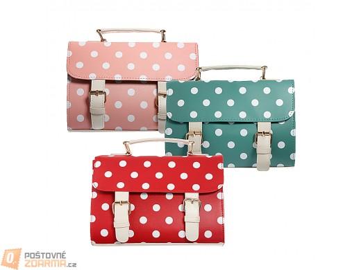 Puntíkovaná kabelka Zanzea® - ve 3 barvách