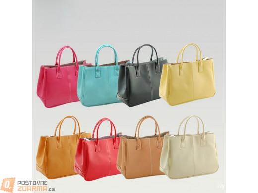 Dámská elegantní kabelka - 14 barev