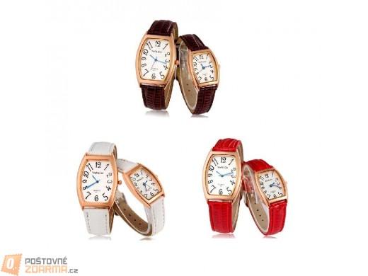 Elegantní hodinky WoMaGe pro pár