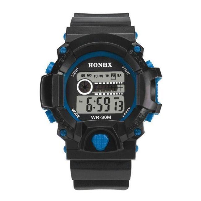 Silikonové sportovní pánské hodinky - 2 barvy 1