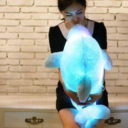 Svítící LED polštář - Delfínek