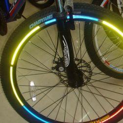 Reflexní nalepovací pásky na kola