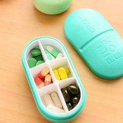 Krabička na léky - 5 barev