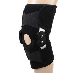 Ortéza na koleno s hliníkovou výztuží - černá