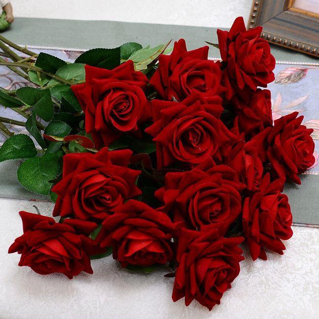 Umělé květiny - růže 1