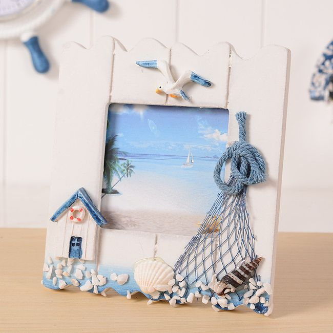 Závěsný rámeček na fotku v námořnickém stylu 1