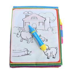 Dětské nekonečné omalovánky na kreslení vodou KCH01