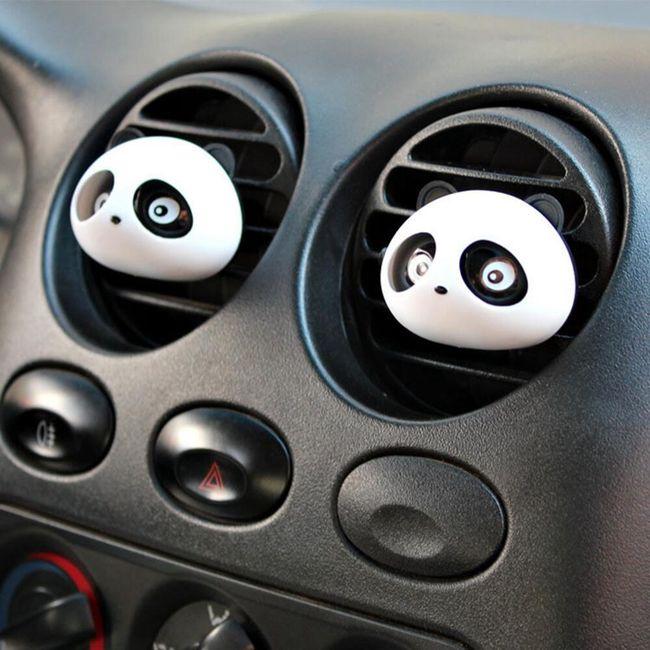 Osvěžovač vzduchu do auta v podobě pandiček 1
