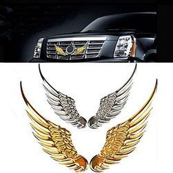 3D samolepka na auto - andělská křídla