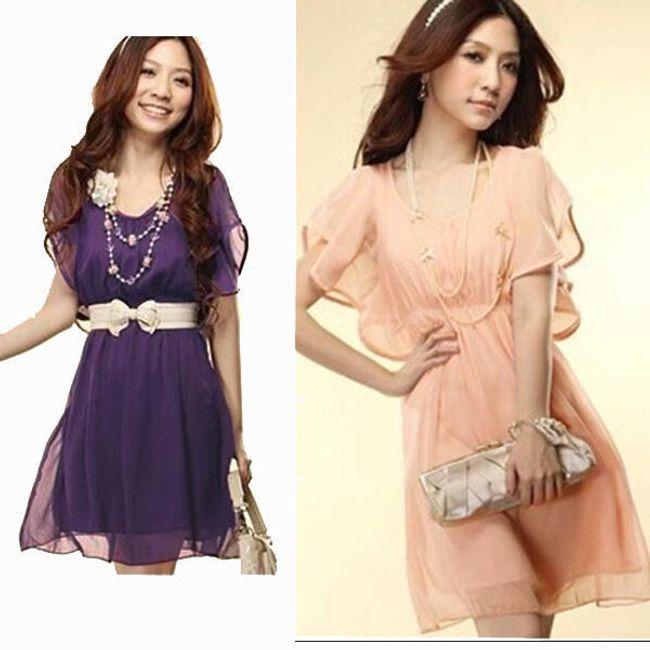 Šifonové šaty Zanzea® - 3 barvy 1