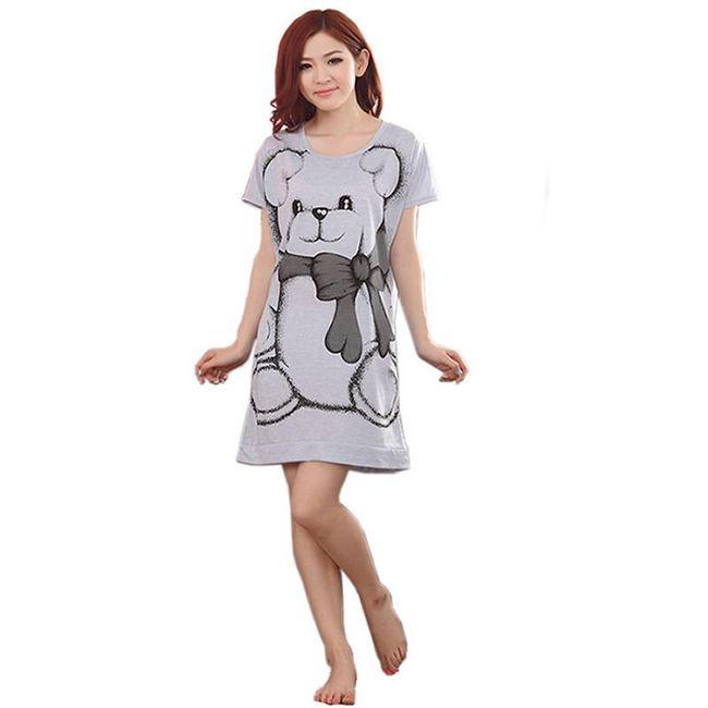 Košilka Audrey s medvídkem 1