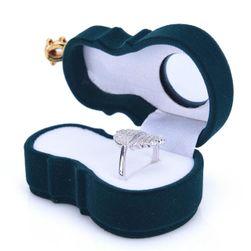Krabička na prsten - housle