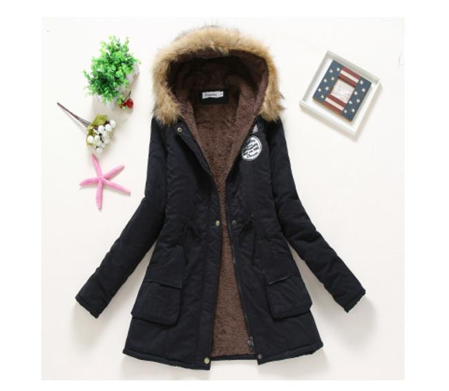 Dámská zimní bunda Jane - Černá-velikost č. M 1