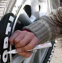 Fixa na pneumatiky - 8 barev