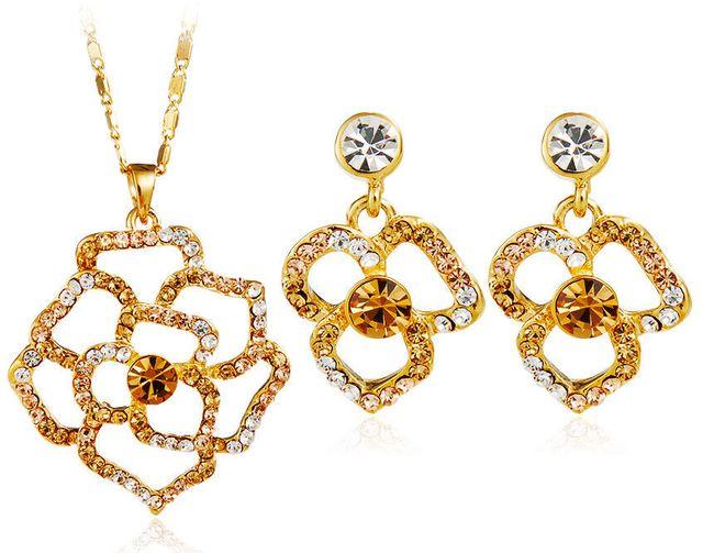 Sada květinových šperků 1