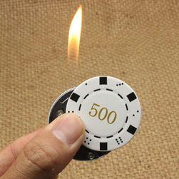 Zapalovač v podobě herního žetonu