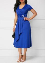 Dámské šaty s krátkým rukávem Emraha