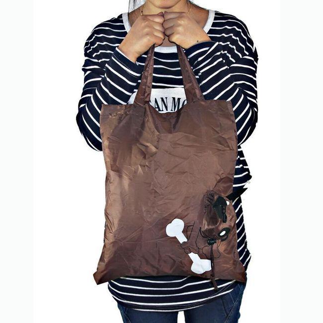 Skládací taška - pes 1
