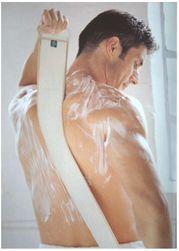 Masážní mycí popruh