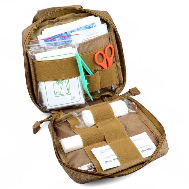 Taktické pouzdro na zdravotnické předměty - 3 barvy 1