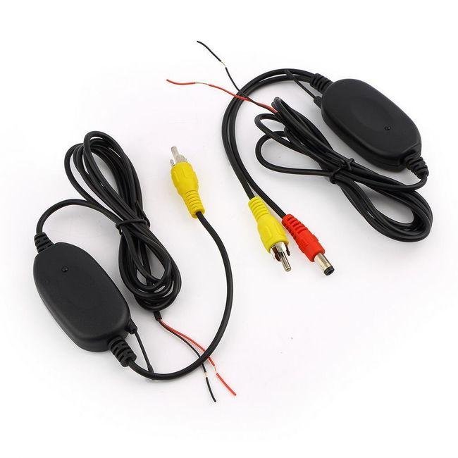 Bezdrátová pomůcka při couvání - vysílač a přijímač 1