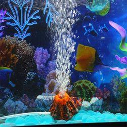 Bublinkující sopka do akvária